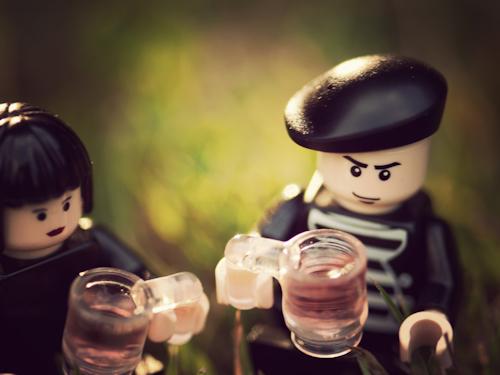 Le vin couple sophistiqués boire