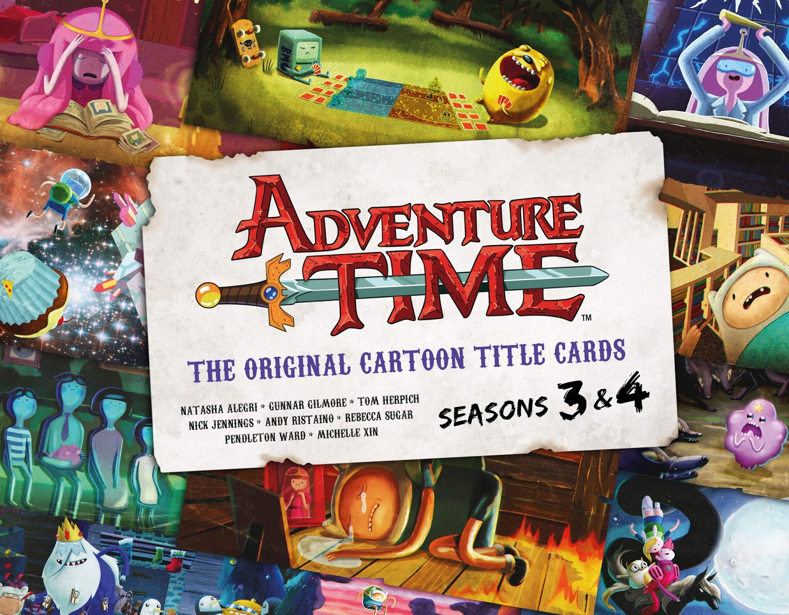 Win Adventure Time Art Book!