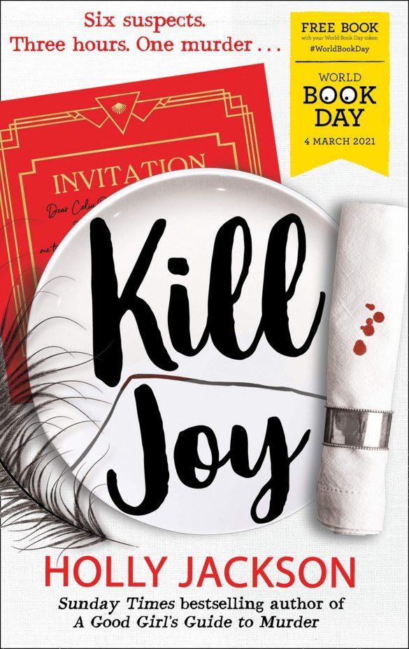 18th - Kill Joy by Holly Jackson