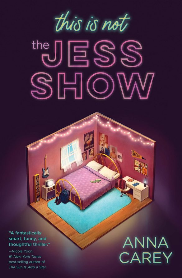 2nd - This Is Not the Jess Show by Anna Carey