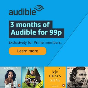 Audible 3 months for 99p Offer